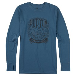 Burton Midweight Crew washed blue
