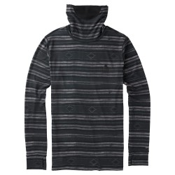 Burton Midweight Long Neck faded stag stripe