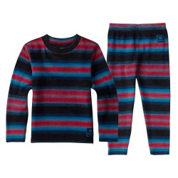 Burton Minishred Fleece Set seaside stripe