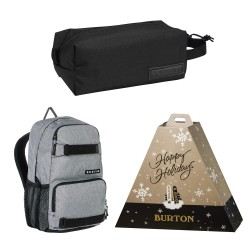 Burton School Pack grey heather