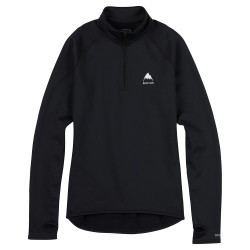Burton Wms Expedition 1/4 Zip true black