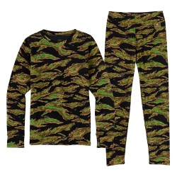 Burton Youth Fleece Set beast camo