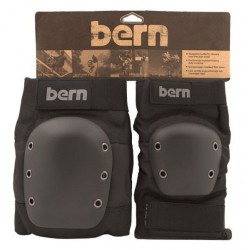 Bern Adult Pad Set black/grey logo