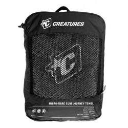 Creatures Journey Towel charcoal
