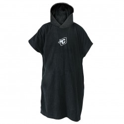 Creatures Surf Poncho black