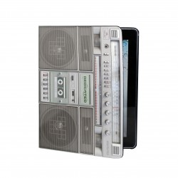 Dedicated Boombox Ipad Book grey