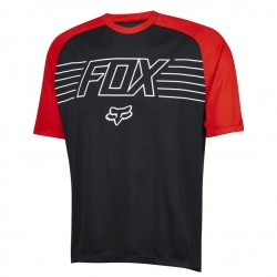 Fox Ranger Ss Prints Jersey black