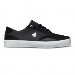 DVS Daewon 14 black/white suede canvas