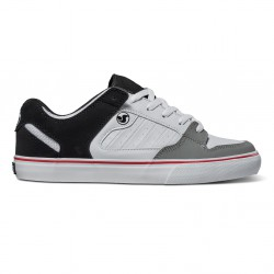 DVS Militia Ct white/black/grey leather
