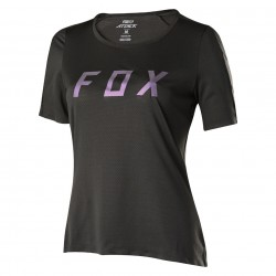 Fox Womens Attack Jersey black