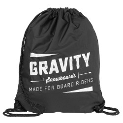 Gravity Jeremy Cinch Bag black
