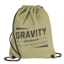 Gravity Jeremy Cinch Bag canvas