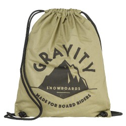 Gravity Peak Cinch Bag canvas