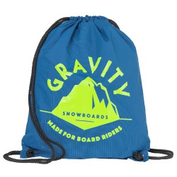 Gravity Peak Cinch Bag teal