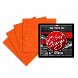 Blood Orange Ultra-Coarse 4 Pack neon orange