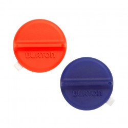 Burton Mini Scraper Mat translucent red/blue