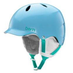 Bern Bandita satin light blue