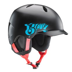 Bern Bandito satin black baseball