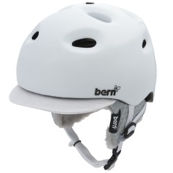 Bern Cougar gloss white