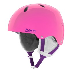 Bern Team Diabla Jr translucent pink