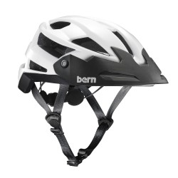 Bern Fl-1 Trail gloss white