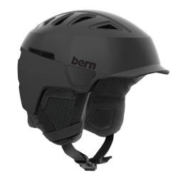 Bern Heist MB satin black