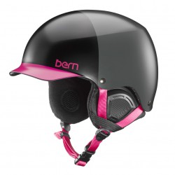 Bern Muse satin black hatstyle