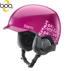 Bern Muse satin magenta geo graphic