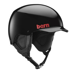 Bern Team Baker gloss black
