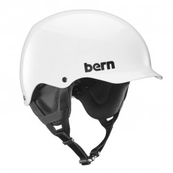 Bern Team Baker gloss white