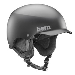 Bern Team Baker matte black