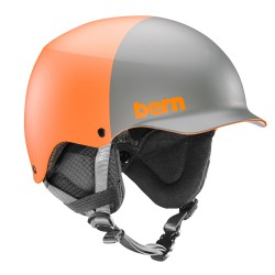 Bern Team Baker matte orange 2-tone