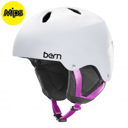 Bern Team Diabla Jr MIPS satin white