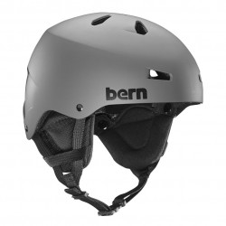 Bern Team Macon matte grey