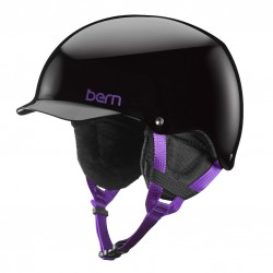 Bern Team Muse gloss black