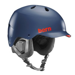 Bern Watts matte navy blue
