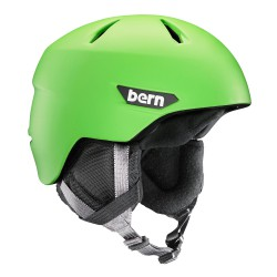 Bern Weston Jr matte neon green