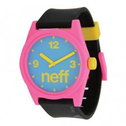Neff Daily Watch cyan/pink/black