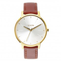 Nixon Kensington Leather gold/saddle