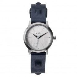 Nixon Kenzi Leather all silver/studded