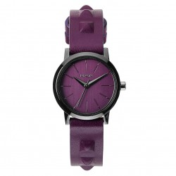 Nixon Kenzi Leather bordeaux/studded