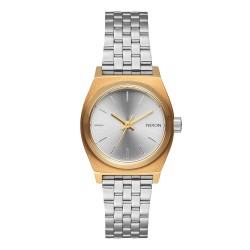 Nixon Small Time Teller gold/silver