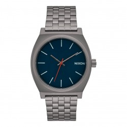 Nixon Time Teller all gunmetal/dark blue