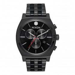 Nixon Time Teller Chrono Sw kylo black