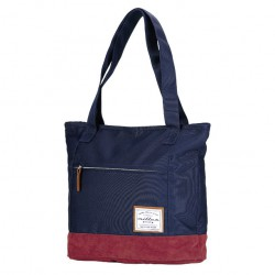 Miller Finest Tote Bag navy/red