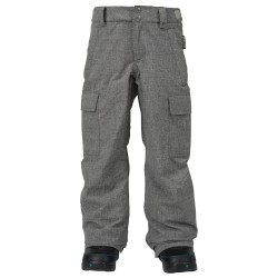 Burton Boys Exile Cargo heather iron grey
