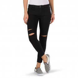 Vans Destructed Skinny midnight black