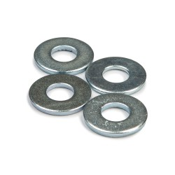 "Khiro Flat Washers 7/8"" chrome"