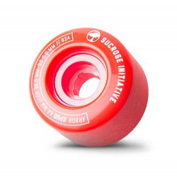 Arbor Spud 64mm/82A red
