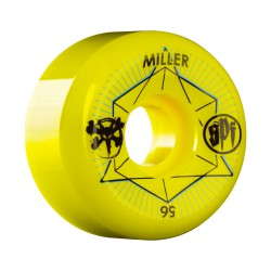 Bones SPF Miller Inner II 56mm/104A yellow